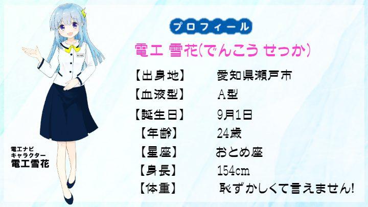 新イメージキャラクター 『電工 雪花ちゃん』登場!!